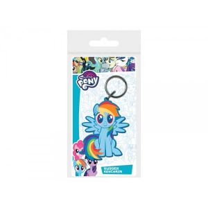 Porte Clé My Little Pony - Rainbow Dash Gomme