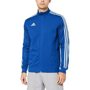 Adidas Tiro 19 Training Jacket Regular - Bold Blue / Dark Blue / White - Taille XXXL