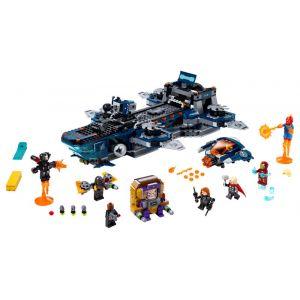 Lego Marvel Super Heroes L'héliporteur des Avengers - 76153, Jouets de construction