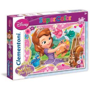 Clementoni Puzzle Princesse Sofia 2 x 20 pièces