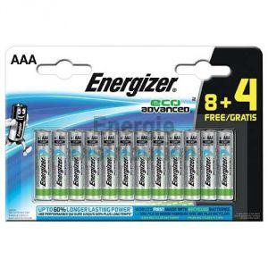 Energizer 12 Piles AAA LR03 EcoAdvanced