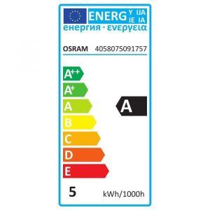 Osram Lot de 2 Ampoules LED Star+ flamme E14 - 4,5 W - Culot : E14 - Forme flamme - 4,5 W équivalent 25 W - Télécommande fournie - 16 couleurs et 4 effets dynamiques
