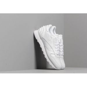 Reebok Chaussures Classic CL LTHR blanc - Taille 36,37,38,39,40,42,40 1/2,42 1/2,35 1/2,37 1/2,38 1/2