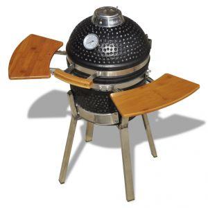 VidaXL Kamado - Barbecue au charbon de bois en céramique 76 cm