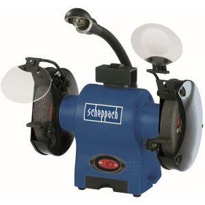 Scheppach Double ponceuse 230V, 370 Watt, BG150 - 4903104901