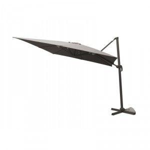 Delorm Design Parasol déporté carré 300 x 300 cm