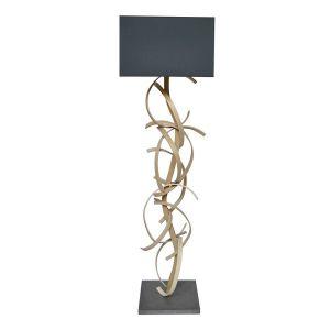 Limelo design Charlotte - Lampadaire design en bois