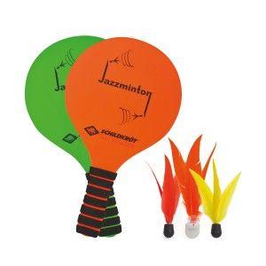 Schildkröt Fun Sports 970155 Lot DE 2 Raquettes + 3 Volants pour Jeu de Nuit Mixte Enfant, Multicolore