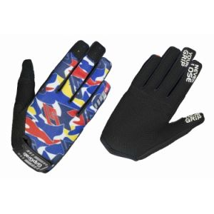 GripGrab Gants Rebel Youngster - Blue Camo - Taille M