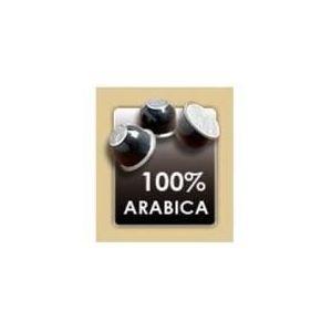Capricci 100 capsules de café 100 % Arabica pour machine à expresso Atiete