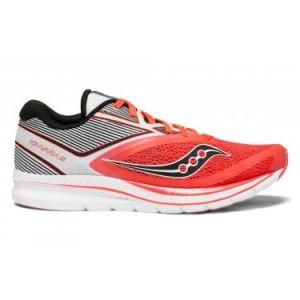 best service b1ff6 5cc44 Comparer chez 3 marchands. Saucony Kinvara 9, Chaussures de Fitness Femme,  Rouge (Viz Red WHT 2