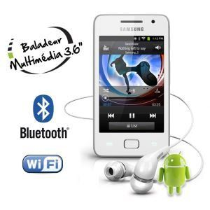 Samsung Galaxy YP GS1 8 Go Lecteur MP4 Galaxy S WiFi 36