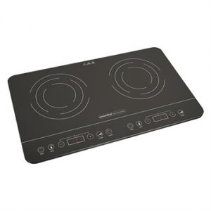 Kitchen Chef Plaques à induction ultra fine 2 foyers 3500 W Professional