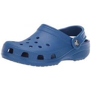 Crocs Classic Clog, Sabots Mixte Enfant, Bleu (Blue Jean) 30/31 EU