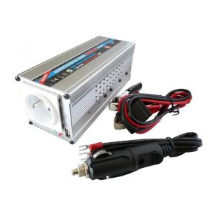 HTC Convertisseur 12 / 24 V Automatique 220 / 240 V 350 W USB 0,5 A