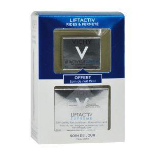 Vichy Liftactiv Supreme peaux sèches + mini Activnuit Supreme