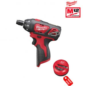 Milwaukee M12 BSET1A-201B - Pack visseuse 12V Li-Ion 2.0Ah
