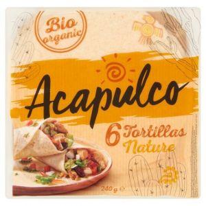 Poco loco 6 tortillas de ble bio 20cm 240g bio
