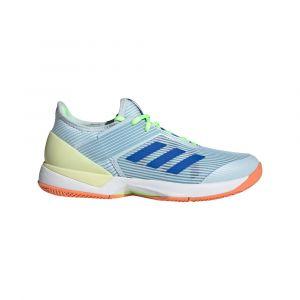 Adidas Adizero Ubersonic 3 EU 38 2/3 Sky Tint / Glory Blue / Amber Tint - Sky Tint / Glory Blue / Amber Tint - Taille EU 38 2/3