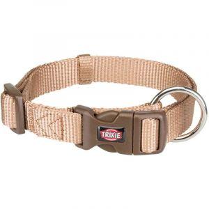 Trixie Premium collier - M-L: 35-55 cm/20 mm, caramel