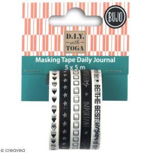 Toga Rubans Masking Tape pour Bullet Journal
