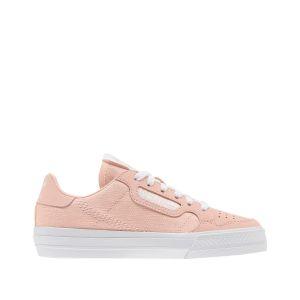 Adidas Baskets -originals Continental Vulc Child - Clear Orange / Footwear White / Clear Orange - EU 28