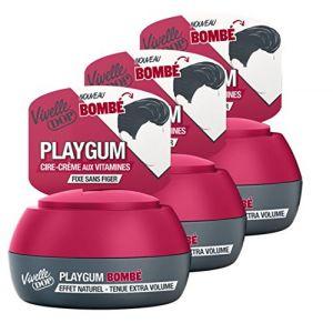 Vivelle Dop Playgum Bombé - Cire-crème effet naturel tenue extra volume