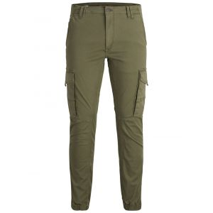 Jack & Jones Pantalons Jack---jones Paul Flake Akm 542 L34 - Olive Night - W34-L34