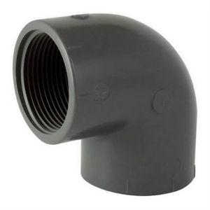 Codital Coude 90° pvc pression à visser ff 1/2'