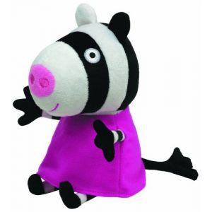 Ty Peluche Peppa Pig : Zoe Zebra (16 cm)