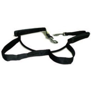 Num'Axes Laisse en nylon mains-libres et jogging Sport Coneck'T - 1,70-2,10m - Pour chien