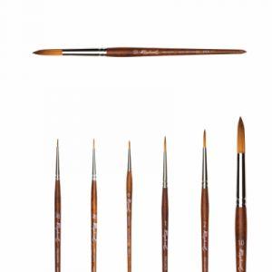 Raphaël Pinceau rond en fibre synthétique imit. martre Precision série 8504 1