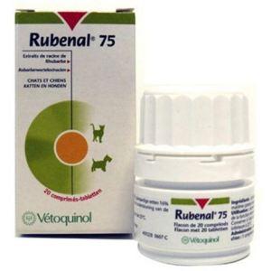Vetoquinol Rubenal 75 - Compléments insuffisance rénale pour chiens et chats