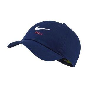 Nike Casquette réglable Paris Saint-Germain Heritage 86 - Bleu - Taille Einheitsgröße - Unisex