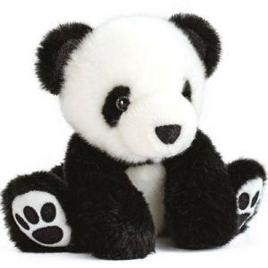 Histoire d'ours Peluche So chic panda noir 17 cm
