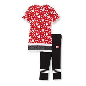 Adidas Ensemble INF DY MM SUM Rouge - Taille 6-9 Mois
