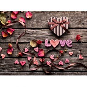 Grafika Love - Puzzle en bois 80 pièces