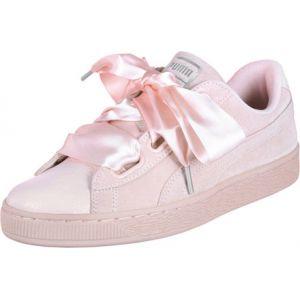 Puma Suede Heart Bubble Wn's, Sneakers Basses Femme, Rose (Pearl-Pearl), 38 EU