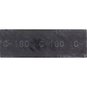Outibat Treillis abrasif grain 180 - Dimensions 280 x 90 mm - Grain 180 - Vendu par 10