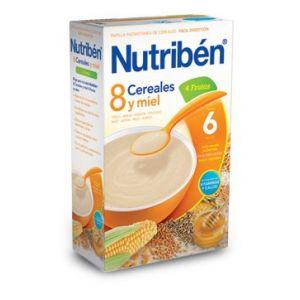 Nutribén 8 céréales et miel 600 g - dès 6 mois