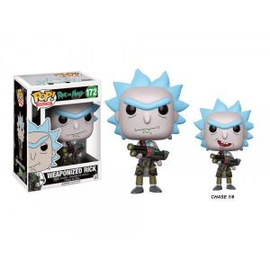 Funko Figurines Pop! Rick & Morty : Weaponized Rick