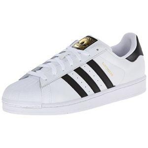 Adidas Superstar chaussures blanc noir 46 EU