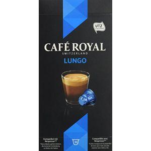Café Royal Lungo - 50 capsules Compatibles avec le Système Nespresso