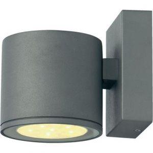 SLV Sitra 6x1W LED applique gris argent 3000K IP44