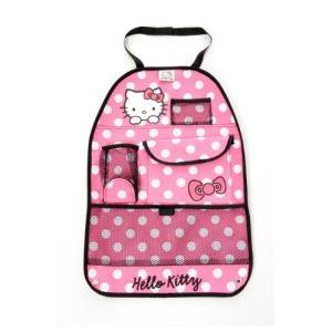 Protection de dossier de siège avec organiseur Hello Kitty