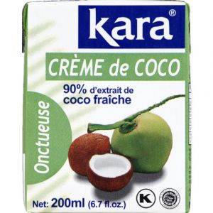 Kara Crème de Coco Brique 200 ml