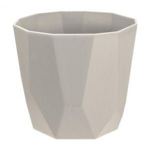 Elho Cache Pot Géométrique Rock b.for 18 cm Gris