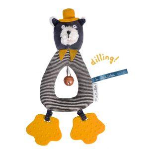 Moulin roty Hochet anneau chat Alphonse Les Moustaches