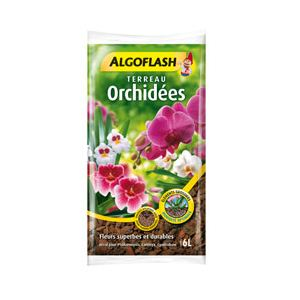 Algoflash Terreau orchidées 6 L