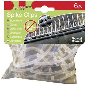 Swissinno Clip de fixation pour lintérieur/extérieur Spike-Clips 1 238 001K 6 pc(s)
